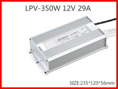 37.33$  Watch here - http://alil9h.shopchina.info/go.php?t=32332479166 - 350W 12V 29A LED constant voltage waterproof switching power supply IP67 for led drive LPV-350-12  #buymethat