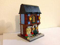 LEGO MOC Mini Modular: Medieval Market Village by John Parilla