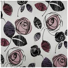 Tecido flocado floral - tecdec Referência: M-10671