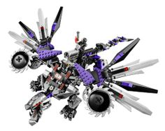 #LEGO Ninjago 70725 Nindroid Mech Dragon Toy