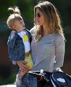 Gisele Bundchen and daughter Vivian at the park http://dailym.ai/1smqRqE