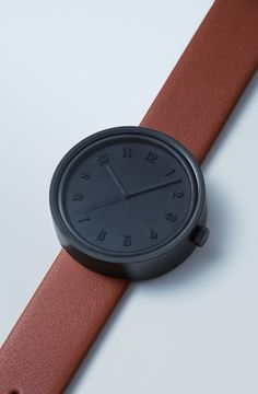 """""""Designed by Leo Chiu and Siu Man, the Sealed Watch has a face made of sealing wax. Trendy Watches, Cool Watches, Watches For Men, Fancy Watches, Modern Watches, Watches Photography, Hand Watch, Fashion Watches, Mens Fashion"""