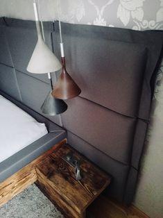 NINASIMON - Betonlampe - Nachttisch - Rückteil Design, Google, Home Decor, Bedside Desk, Old Wood, Ideas, Bed Room, Homemade Home Decor, Design Comics