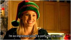 """""""I'm so impressed you fit a pony into my room!"""""""