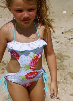 Charlie Monokini by Kimi & Li Bikini  kids | baby | girls | swimwear | bikinis | swimsuits