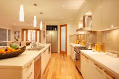 Monte Carlo Kitchen by McDonald Jones Homes. Love, love, love these colours