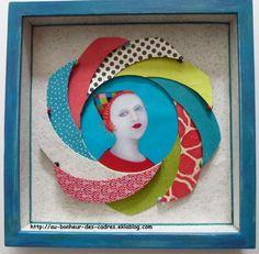 Encadrement - Au bonheur des cadres Art And Craft, Dyi, Decoration, Frame, Projects, Handmade, Painting, Couture, Home Decor