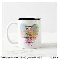 Wedding Mugs, Serenity Prayer, Anniversary Quotes, Love Messages, Word Art, Keep It Cleaner, Color Pop, Coffee Mugs, Best Gifts