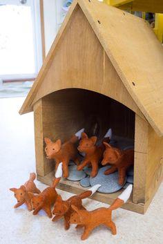 Felt Foxes - Sew Sweet