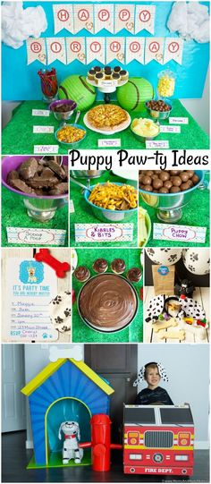Puppy Pawty Ideas an
