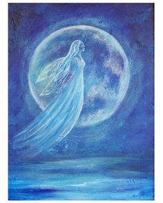 Elemental Angel of Water - She helps us transform. She assists us with remembering our true abilities and connects us with our higher selves.