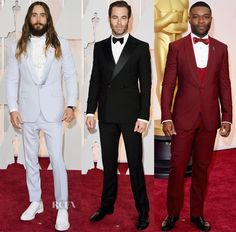 2015 Oscars Mens Attire Inspiration for Grooms and Groomsmen