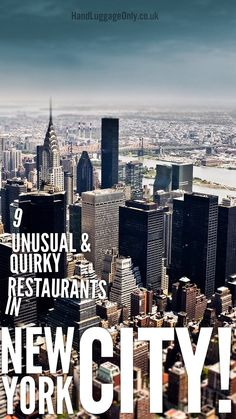 9 Unusual And Unique Restaurant You Must Visit In New York - Hand Luggage Only - Travel, Food & Home Blog