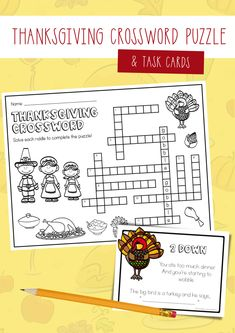 Thanksgiving Crossword Puzzles