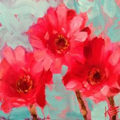 """Daily Paintworks - """"Follow your heart"""" by Krista Eaton"""