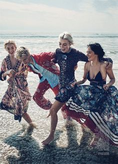 Lucky Blue Smith reunites with his three sisters Daisy Clementine, Pyper America and Starlie Cheyenne, for this story shot by Beau Grealy and styled by Alison Edmond for Marie Claire's January 2016... »