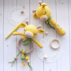 # Baby Knits Toys Set of Giraffe Rattle Toys, Crochet Animal Teether, Sensory toys for infants, Eco-friendly Gift for Newborn, Montessori Baby Toys Crochet Baby Toys, Baby Knitting, Baby Toy Storage, Montessori Baby Toys, Newborn Toys, Newborn Nursery, Newborn Baby Gifts, Educational Baby Toys, Wooden Baby Toys