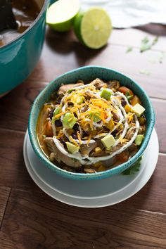 Slow Cooker Mexican Chicken Stew on MyRecipeMagic.com