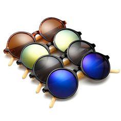 rabbagash.com Bamboo Women's Sunglasses Classy Sunglasses that protect your eyes. Perfect finish and amazing look. For both Day and Night Riding. Anti-Glare protection when riding your motorcycle. UV protection from the Sun. Various range of colors for you to suit your every occasion. Wear your style and feel the comfort!