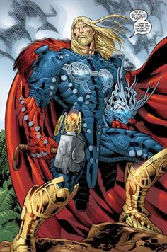 Rune King Thor... more powerful then Hulk could ever be.