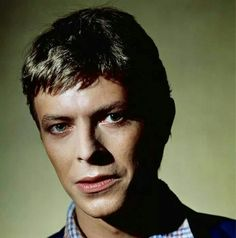 David Bowie, late 1970s.