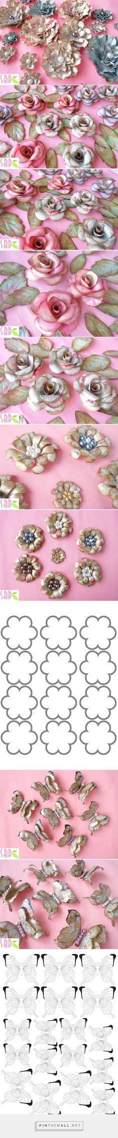 Sweet Bio design: Dipendente dai fiori di carta! - paper Flower addicted!... - a grouped images picture - Pin Them All