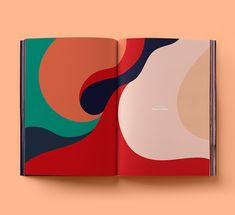 "illustration abstraite : ""Book of ideas, a graphic design journal"", de Radim Malinic, courbes Graphisches Design, Buch Design, Nail Design, Design Ideas, 2020 Design, Types Of Design, Split Design, Logo Design, Design Model"