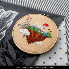 Geek Nerd Cross Stitch Pattern PDF  Modern by LuckyStarCrossStitch