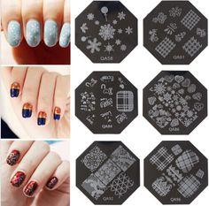 100pcs/lot Wholesale Hot 90 Design Pattern DIY Nail Art Image Stamp Stamping Plates Manicure Template QA 01-090Series. NP#01-90,