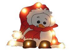 Ein total süsse Weihnachtsbeleuchtung ist unser Rudi...ausgestattet mit einer 10 er Lichterkette, die einen Ein/Ausschalter hat.