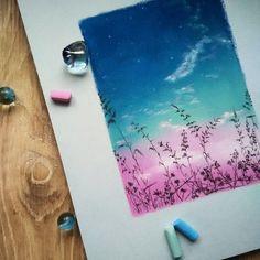 Тру Художник|Уроки рисования|Арт Портреты Chalk Pastel Art, Soft Pastel Art, Pastel Artwork, Oil Pastel Paintings, Chalk Pastels, Chalk Art, Soft Pastels, Oil Pastel Drawings Easy, Colorful Drawings