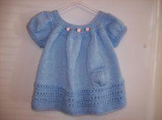 Sweet Baby Dress via Craftsy