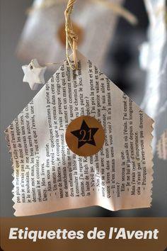 Facile, rapide et recyclé 😊 Stickers, Crochet Earrings, Drop Earrings, Sticky Labels, Vintage Christmas, Advent Calendar, Drop Earring, Decals