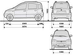 Fiat Panda 2003. - 2012. Fiat Panda 4x4, Autos, Automobile