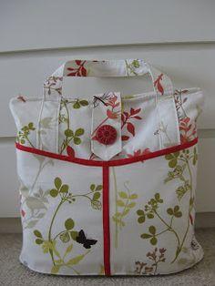 Bolsa - link (diaper bag): http://www.make-baby-stuff.com/free-diaper-bag-pattern.html