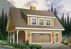 The Saddlery Plan 1154 - 2 Bedrooms and 2 Baths | The House Designers