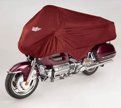 Ultragard Gold Wing Half Cover Gray,Cranberry, Black - Honda Gold Wing Parts & Accessories by WingStuff.com