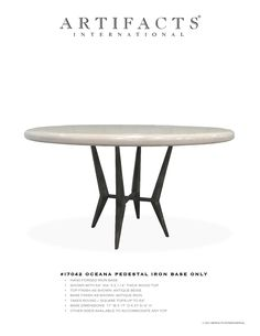 Artifacts International // All Dining Tables
