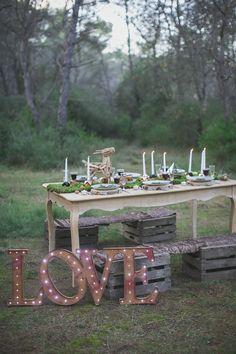 idées décoration de table mariage hiver Trendy Wedding