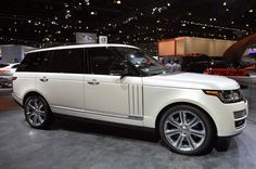 2014 Land Rover Range Rover Autobiography Black LWB is a $185k mountain-climbing limo