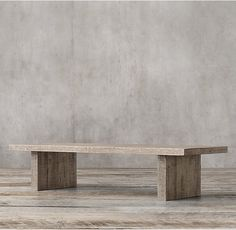 look at dimensions Reclaimed Russian Oak Plank Coffee Table