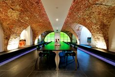 Unique combination of modern interior design (by architect Stan van den Wildenberg) and a medieval environment (1450) in the historical 'Muurhuizen' Het Gasthuys, Amersfoort The Netherlands