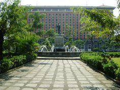 Plaza del Gobernador Intramuros  Philippines