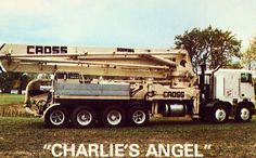 """Charlie's Angel"" - Cross Concrete Pumping Co.,Inc. - Michigan"