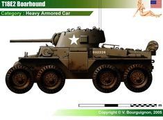 T18E2 Boarhound Armored Car