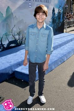 """Girl Meets World"" character Farkle at Disney's ""Maleficent"" movie premiere!"