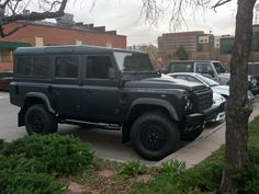 [Land Rover Defender 110] I think. This thing is awesome. Denver CO. #carspotting #cars #car #carporn #supercar #carspotter #supercars
