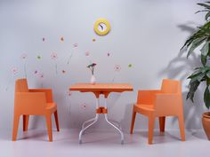 Orange: Coming from nature! [Siesta Exclusive | Contract Collection | BOX Armchair]