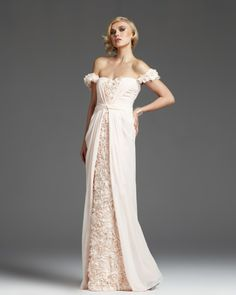 osell wholesale dropship Chiffon Lace Pleated Beading Sweetheart Sleeveless Floor Length A Line Prom Dress $81.71