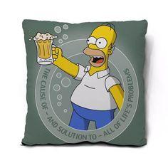 Almofada Homer Simpson 45x45cm